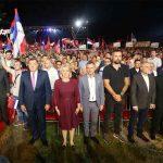 """NA KONVENCIJI SNSD HILJADE LJUDI Dodik: """"Vjerujem da smo partija koja je već dobila izbore"""" (FOTO)"""