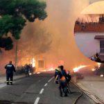 Pelješac u plamenu: Vatra stigla do kuća (VIDEO)
