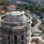 Pokrivena Saborna crkva u Mostaru (FOTO)