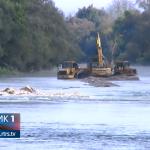 Prijedor: Počelo čišćenje korita rijeke Sane (VIDEO)