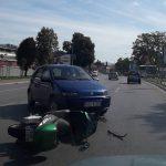 NESREĆA U BANJALUCI U udesu kod tvrđave Kastel povrijeđen motociklista