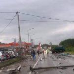 KAMION ZAVRŠIO NA PARKINGU Dvije osobe povrijeđene u teškom udesu kod Tuzle