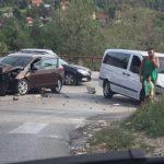 U saobraćajnoj nesreći povrijeđena žena FOTO