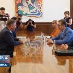 Vučić: Volio bih da je Ivanić pridike držao onima koji se otvoreno miješaju u izbore (VIDEO)