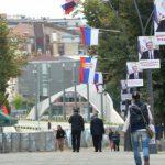 Kako izgleda Kosovska Mitrovica nekoliko sati pre dolaska Vučića (FOTO)