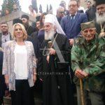 Željka Cvijanović odala počast poginulim srpskim borcima VIDEO