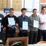 """Brojna priznanja za učenike Elektrotehničke škole na """"Tesla festu"""" u Novom Sadu (VIDEO)"""