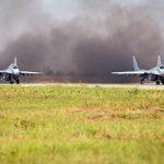 Srpski i Ruski piloti na Batajnici vježbali vazdušnu borbu (VIDEO)