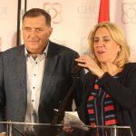 Cvijanovićeva na korak od predsjedničke stolice, Dodik čeka ozvaničenje pobjede (FOTO)