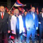 Dodik zapjevao na mitingu u Bijeljini (VIDEO)
