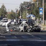 HAOS NA VOŽDOVCU Eksplodirao automobil TV voditeljke Marijane Mićić koji je vozio njen otac (FOTO, VIDEO)