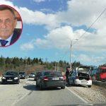 Milovan Bjelica imao saobraćajnu nesreću