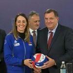 ODBOЈKAŠICE PONOS SRBIЈE I SRPSKE- Dodik: Ovo je veliki uspjeh naše reprezentacije (FOTO)