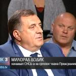 Dodik: Na nivou BiH moramo biti jedinstveni da bi odlučivali o interesima srpskog naroda (VIDEO)