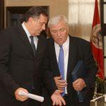 Dodik i Pavić bez izjava nakon sastanka