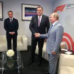 Dodik čestitao rođendan Putinu