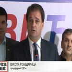 Govedarica: Nije bilo riječi o mojoj ostavci, ali ću je ponuditi (VIDEO)