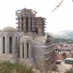 Završeni zidarski radovi na Sabornom hramu u Mostaru VIDEO