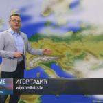 U utorak pretežno oblačno sa kišom (VIDEO)