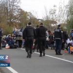 Migranti ne odustaju od prelaska u Hrvatsku (VIDEO)