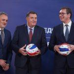 Dodik: Uvek nam je drago kada u reprezentaciji Srbije imamo igračice sa naših prostora