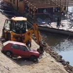 Golfom zamalo sletio u Ibar, pogledajte šta ga je zadržalo! (VIDEO)