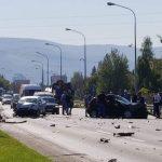 Teška nesreća na putu Banjaluka-Klašnice FOTO