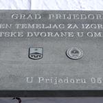 Položen kamen temeljac za novu Sportsku dvoranu u Omarskoj (FOTO i VIDEO)