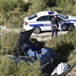 STRAVIČNA TRAGEDIJA NA PANČEVCU Automobil posle sudara sleteo sa mosta, poginuli otac i ćerka (UZNEMIRUJUĆI SNIMCI)