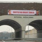 """Transparent na autoputu """"9. januar"""" ustalasao društvene mreže"""