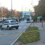 JEZIV PRIZOR Snimak uklanjanja izrešetanog automobila u kojem su UBIJENI POLICJACI