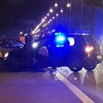 Nesreća kod Šimanovaca: Dva automobila sudarila se na auto-putu, šteta je ogromna
