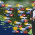 U srijedu oblačno sa sunčanim intervalima, popodne kiša (VIDEO)