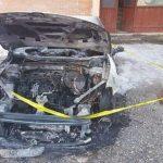 Zapaljen automobil Srbina