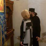 Cvijanovićeva posjetila crkvu pri manastiru Svetog Nikole na Ozrenu (FOTO)