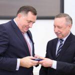 Beglov uručio Dodiku odlikovanje Sankt Peterburga (FOTO i VIDEO)