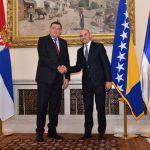 Dodik primio akreditive ambasadora Srbije (FOTO)