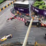 Prekinuta trka Formule nakon nesreće (VIDEO)