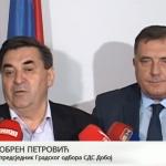 Obren Petrović izbrisan iz članstva SDS-a (VIDEO)