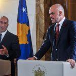 Rama: Uspostavićemo 100 odsto tarifu sjeveru Kosova i 0 odsto jugu
