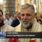 Mostar: Osveštani zlatni krstovi na kupolama Sabornog hrama Svete Trojice (FOTO i VIDEO)