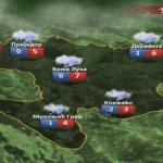 U utorak zahlađenje i snijeg (VIDEO)