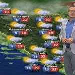 U utorak natprosječno toplo za ovo doba godine (VIDEO)