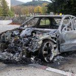 U Trebinju izgorio automobil