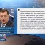 Bez dijaloga o nametnutim rješenjima visokih predstavnika, nema razloga da postoji BiH (VIDEO)