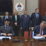 Gradonačelnik Prijedora Milenko Đaković na potpisivanju ugovora o koncesiji za izgradnju auto-puta Banja Luka -Prijedor (VIDEO)