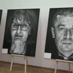 Izložba portreta žrtava rata