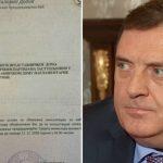 Pročitajte šta je Dodik napisao predstavnicima stranaka