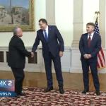 Dodik poručio Salivenu: Podrška evropskom putu, nema konsenzusa o NATO (VIDEO)