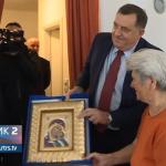 Dodik u posjeti Slađani Crkvenjaš i Јovanki Babić (VIDEO)
